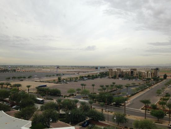 Renaissance Phoenix Glendale Hotel & Spa: View from my room.