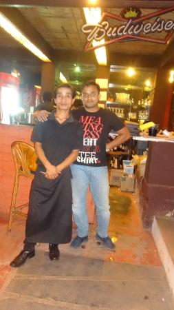 Jamies Restaurant: with ''Sanam''...thank you buddy!!