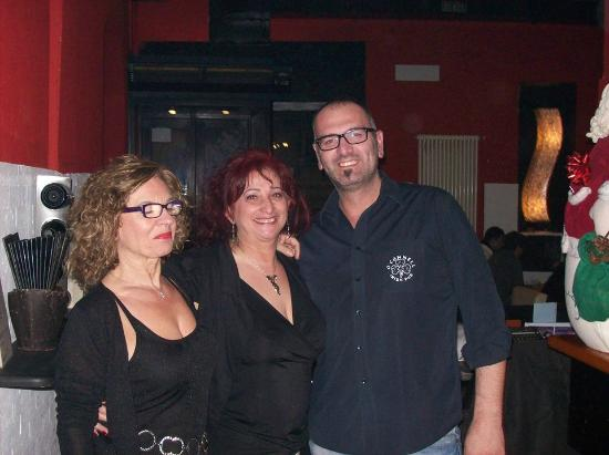 Slice Cafe: Io, Silvy e Marco