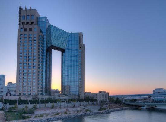 Hotel Trusty Tokyo Bayside: Trusty sunrise