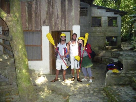 Jungle River Lodge : Ready for Rafting