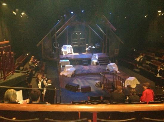 Orlando Shakespeare Theater: Inside the theatre.
