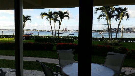 Simpson Bay Resort & Marina: View outside our room II