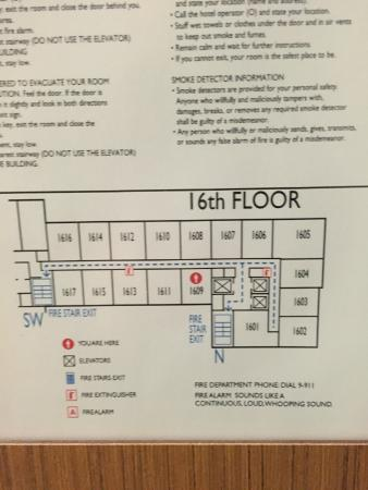 Hotel Floor Plan Picture Of Aloft Chicago Downtown River North Tripadvisor