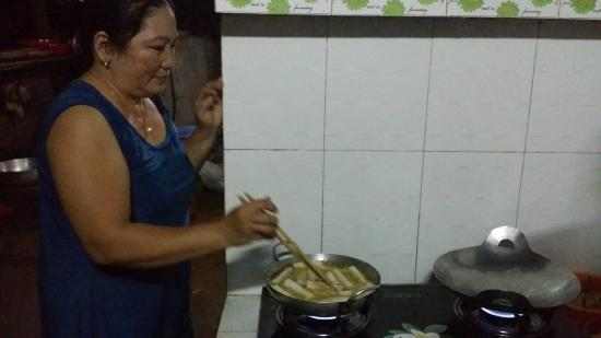 Nam Thanh Homestay: cooking lesson