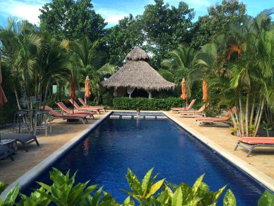 Villa Deveena: View From The Restaurant