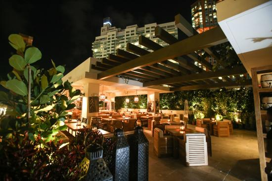 Cibo Wine Bar South Beach Roof Top Patio