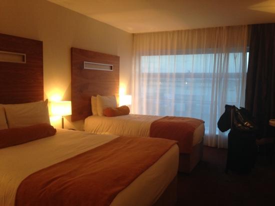 Clayton Hotel Galway: Room on third floor