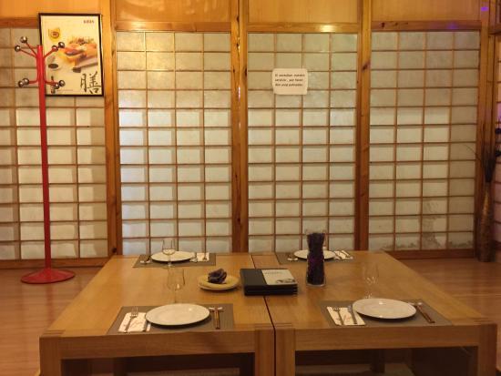 Tatami privado fotograf a de restaurante japones osaka for Comedor japones bogota