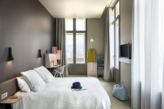 okko hotels lyon pont lafayette chambre - Lyon Chambre