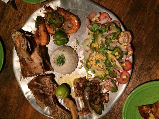 Casa Nostra: Small fish platter