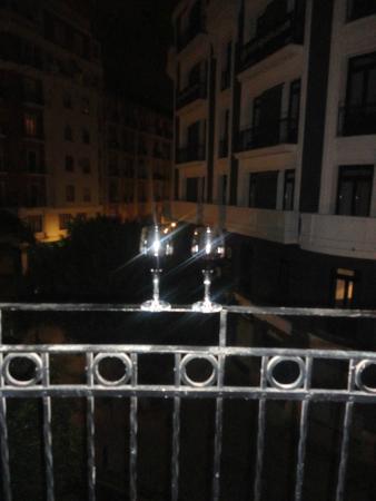 Petit Palace Ruzafa: Vista do quarto, Petit Palace Germanias, Valência, Espanha