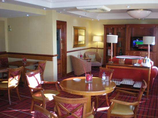 London Marriott Hotel Marble Arch: Lounge im 12. Stock