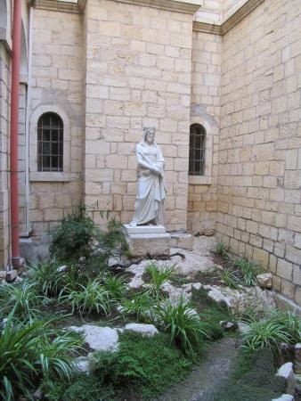 Ecce Homo Convent: Garden Courtyard