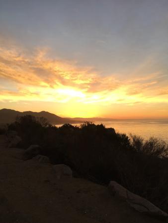 Sunrise in Avila at 7:30 am