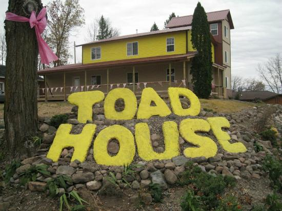 Ladysmith, WI: Toad House as seen from Hwy 8 and Hwy 27