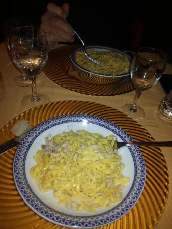 Trattoria da Picchietto : tagliolini Picchietto