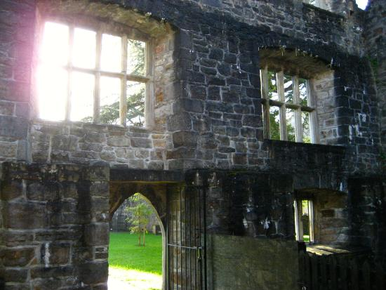 Donegal Castle: inside the un-restored section