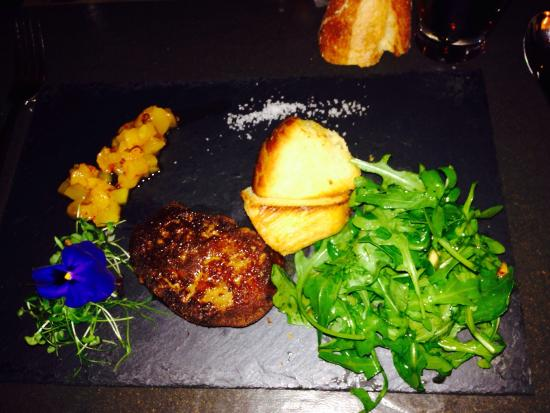 Le Fin Gourmand: Foie gras poêlée