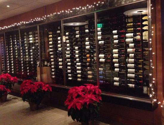 La Cave Wine Bar And Boutique: Wine rack