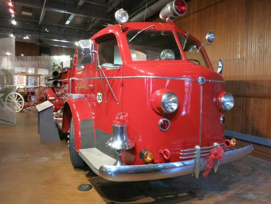 Aurora Regional Fire Museum: The American La France engine.