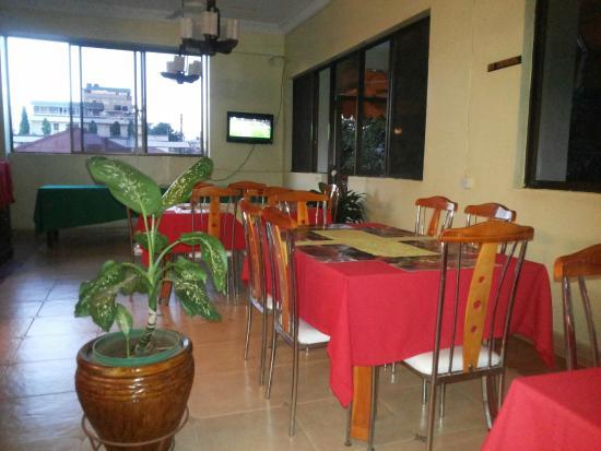 Osy Grand Hotel: Ресторан