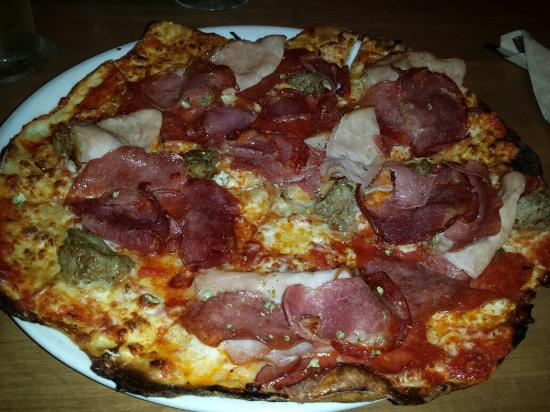 California Pizza Kitchen : Any meat cravers dream pizza!!  The Meat Craver!!