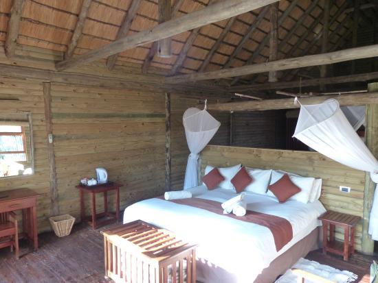 Nata Lodge: Very comfortable bed!