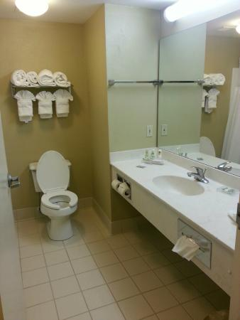 Country Inn & Suites By Carlson, Jacksonville: Bathroom