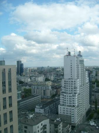 Hilton Warsaw Hotel & Convention Centre: view from room & 12th floor