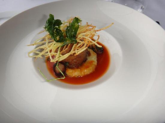 Topaz Restaurant: Finesse des plats