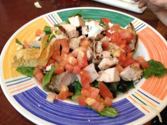 Grilled Chicken Salad Bring You Own Salad Dressing Picture Of