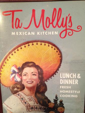 menu cover picture of tamolly s mexican kitchen texarkana