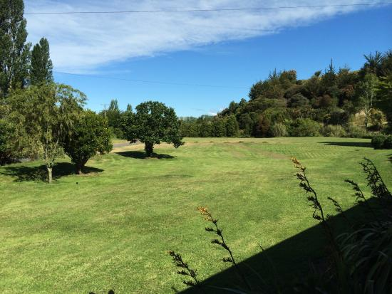 Abel Tasman Stables: View from cabin