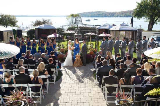 Baker House Hotel Wedding Ceremony