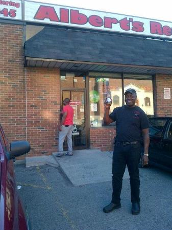 Photo of Restaurant Albert's Real Jamaican Food at 542 St Clair Ave W, Toronto M6C 1A5, Canada
