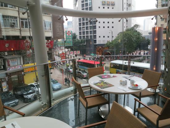 Breakfast Area With A View Of King S Road Picture Of L Hotel