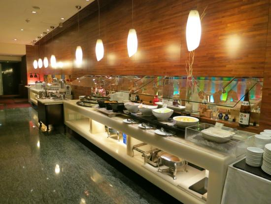 Breakfast Buffet Picture Of L Hotel Causeway Bay Harbour