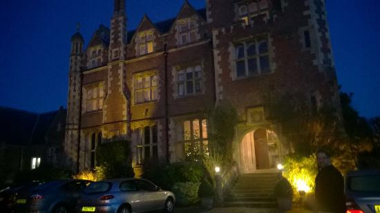 Horsted Place: Arrived late afternoon