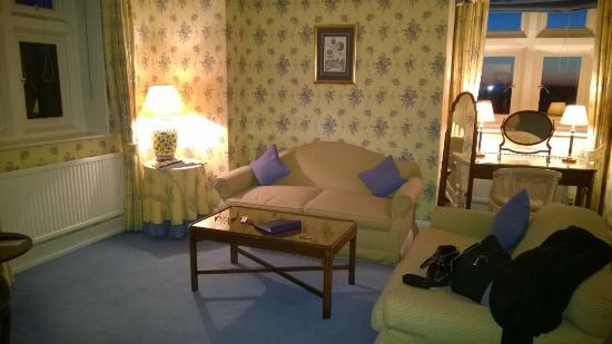 Horsted Place: Our bedroom