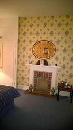 Horsted Place: Lovely fire place