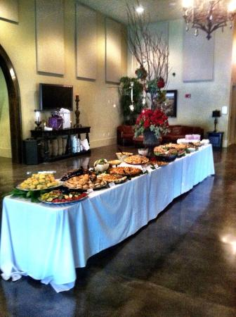 More catering
