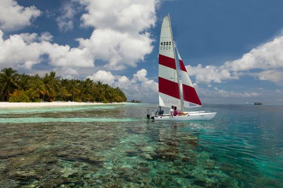Vilamendhoo Island Resort & Spa: Catamaran