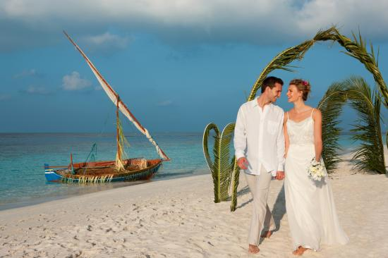 Vilamendhoo Island Resort & Spa: Renewal of Wedding Vows