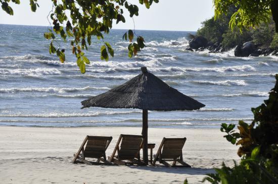 Makuzi Beach Lodge: Windy or calm is fun!