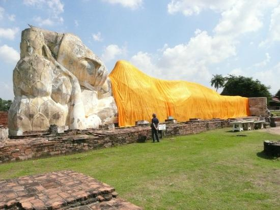 Wat Lokayasutharam -Ayutthaya - Photo de Temple of the ...