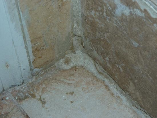 Viva Wyndham Fortuna Beach: Poor tile work