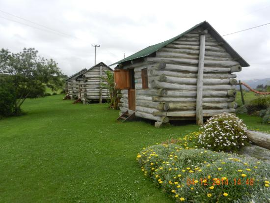 The Wild Farm Backpakers: LOG CABINS - GREAT