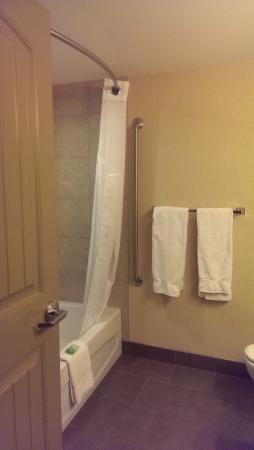 Holiday Inn Express Hotel & Suites Courtenay Comox Valley SW: Great bath with all you need.