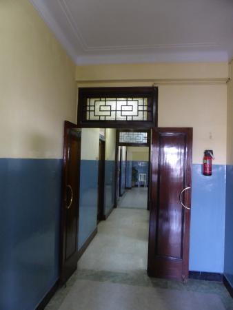 Sea Green South Hotel: Hallway